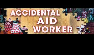 accidental aid worker cover on black