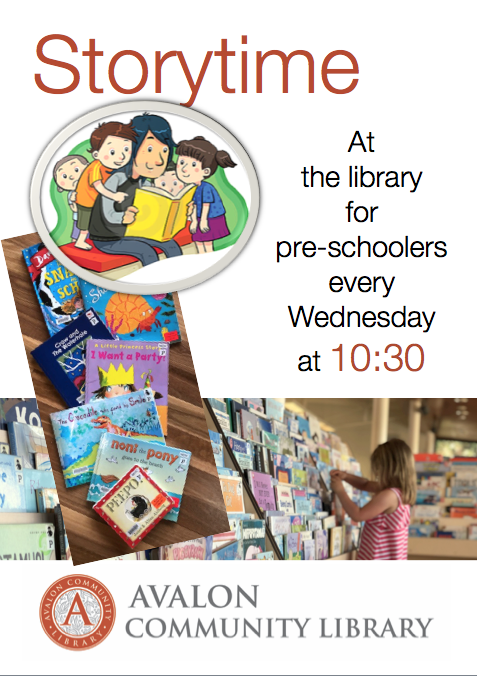 Avalon Library Storytime