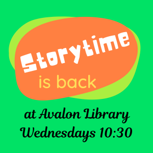 Storytime at Avalon Library