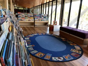 Avalon Beach community library reading space