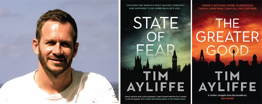 Tim Ayliffe author talk avalon library